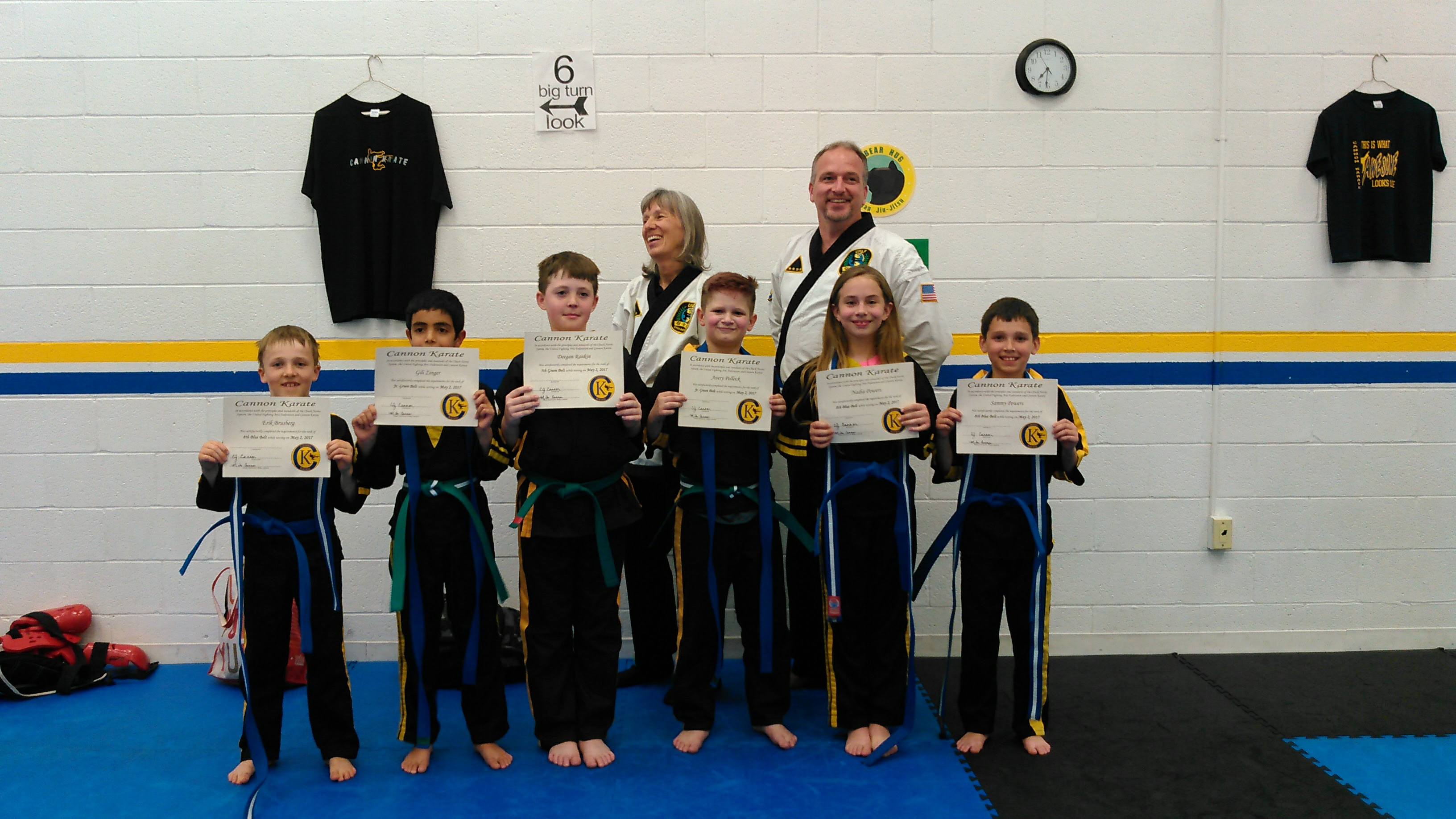 Cannon Karate Kids Classes