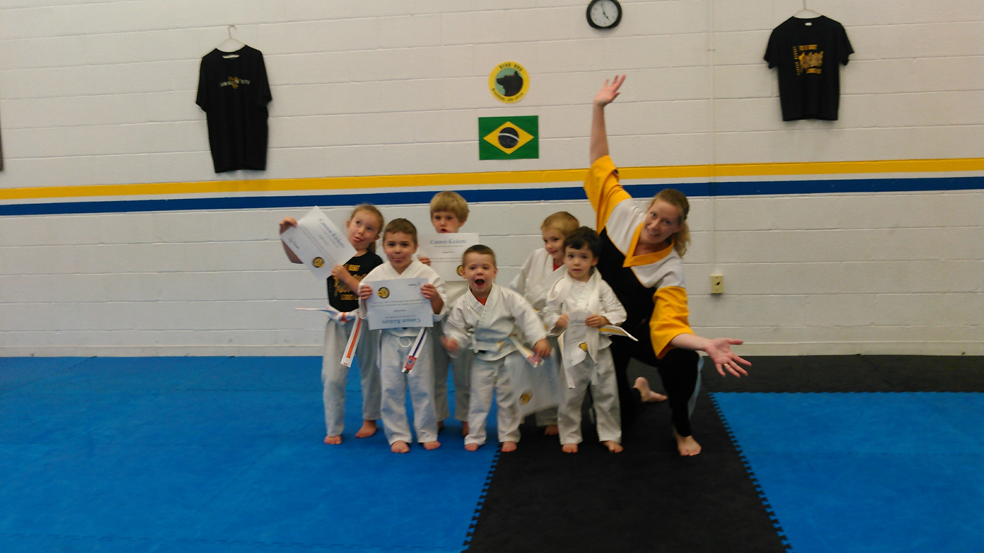 Cannon Karate Kickers